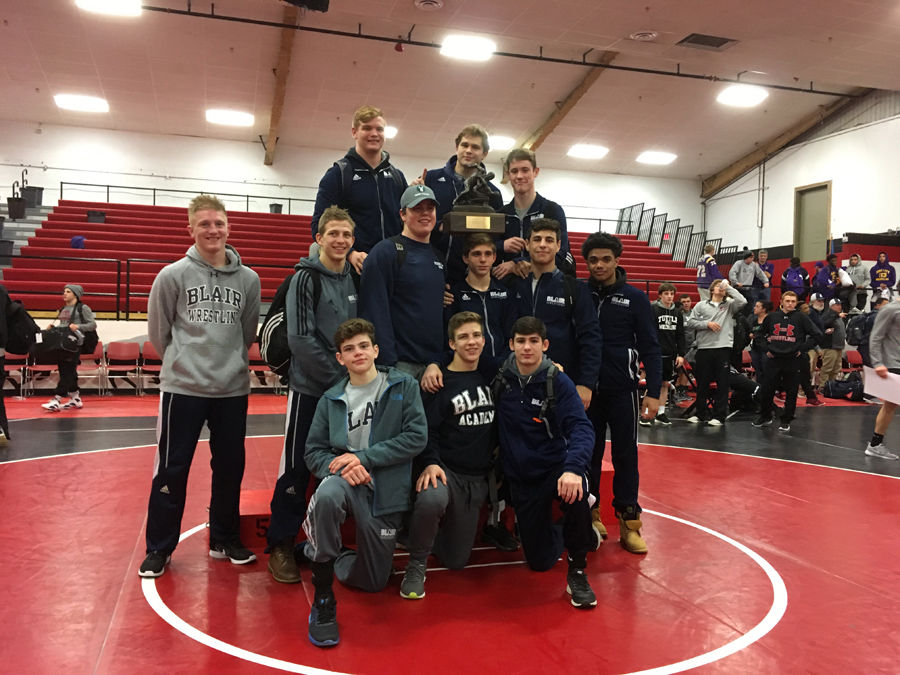 Blair Named Champion of Geary Invitational