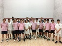 Boys' Varsity Squash Hosts Team from Britain's Charterhouse School