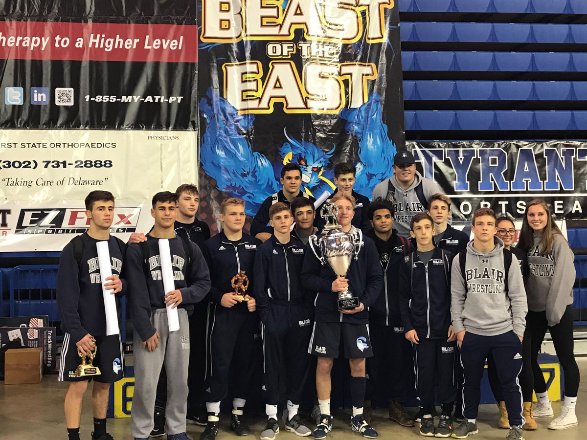 Blair Places 1st in Beast of East Tournament for 18th-Straight Time