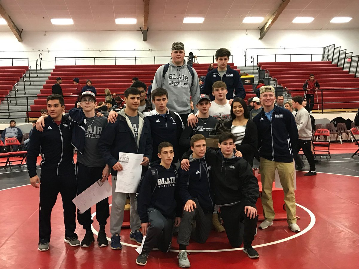 Blair Wrestling Wins Geary Invitational