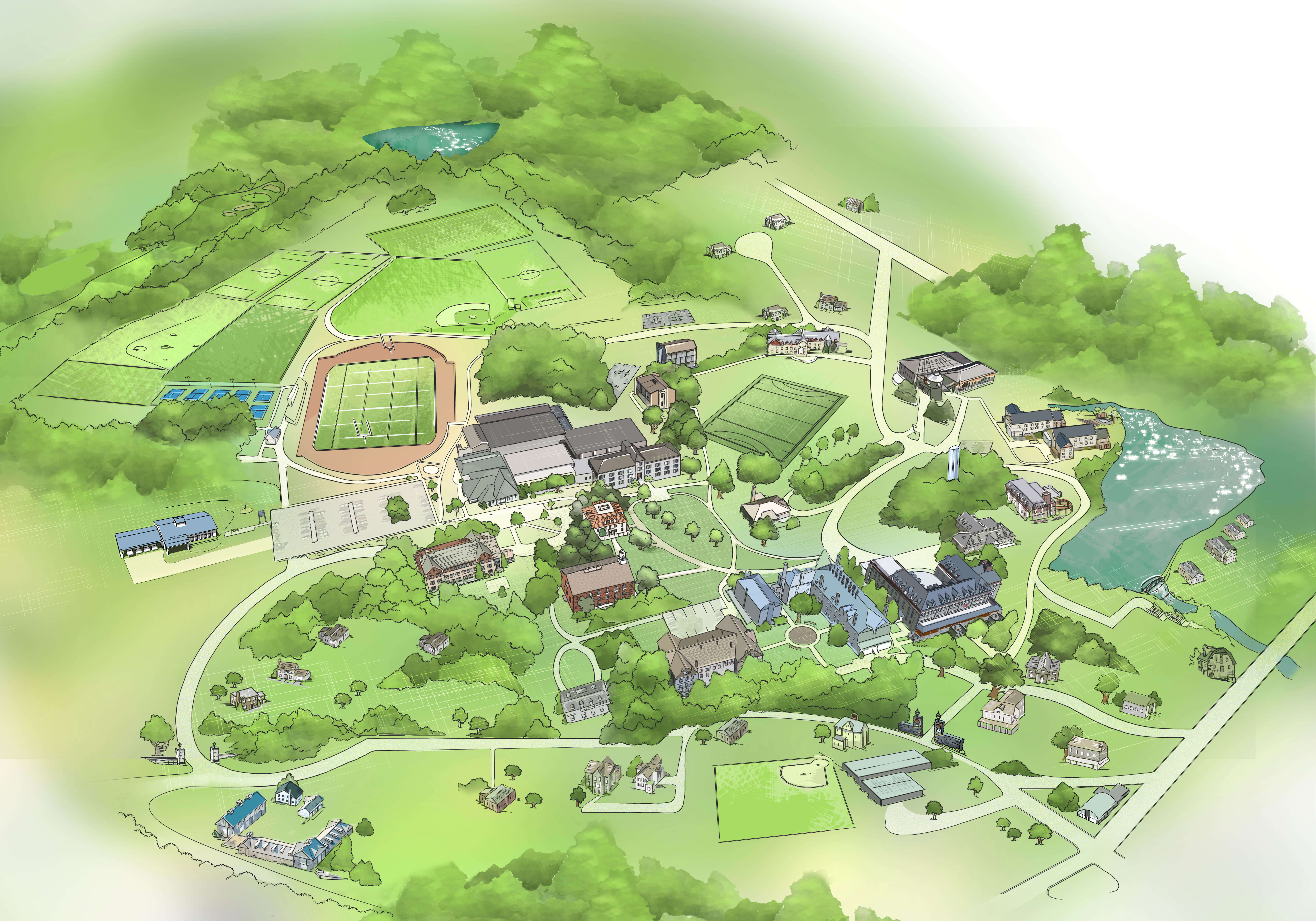 Campus Map Blair Academy